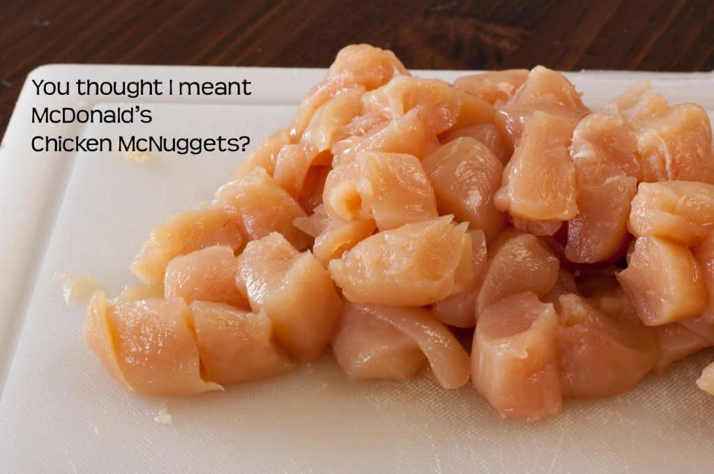 Chicken Nuggets raw