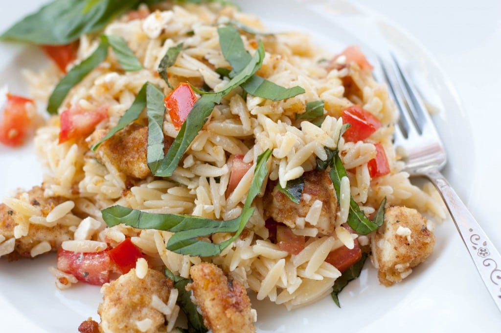 Chicken with Orzo Pasta