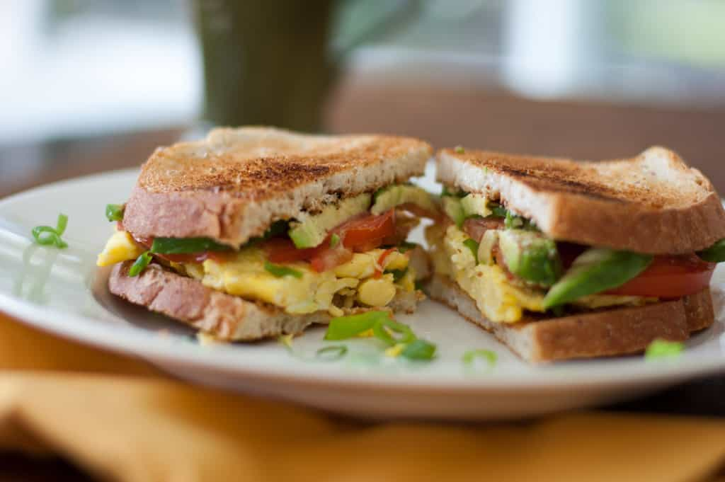 Grown Up Breakfast Sandwich