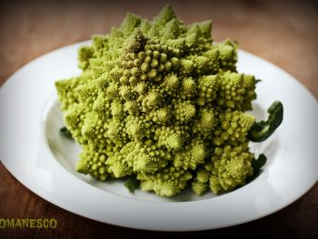 Roasted Romanesco with Pecorino Romano