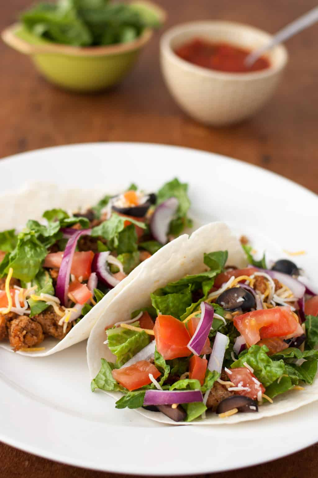 Easy Turkey Tacos from The Kitchen Snob