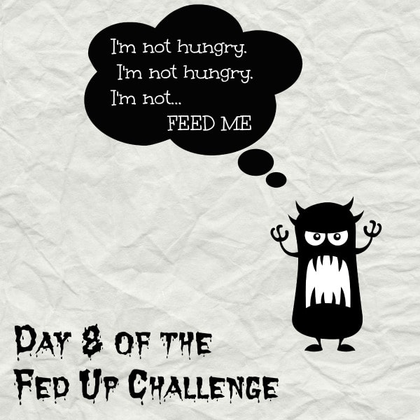 Follow me on the #FedUpChallenge! Day 8 of the Fed Up Challenge - #thekitchensnob.com #sugarfree