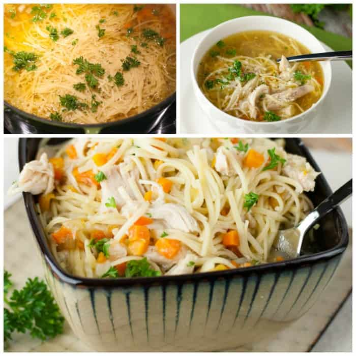 The Best Homemade Chicken Noodle Soup recipe hands down! thekitchensnob.com