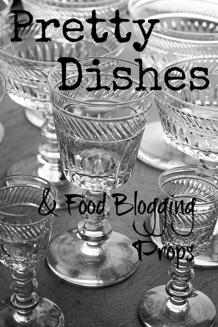 Pretty Dishes & Food Blogging Props by The Kitchen Snob