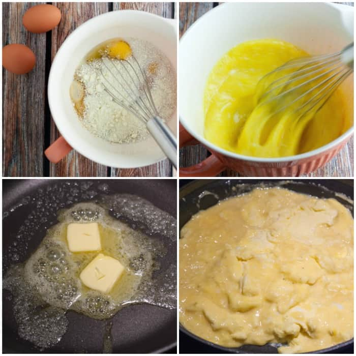 Secret Ingredient Scrambled Eggs - no more boring eggs!