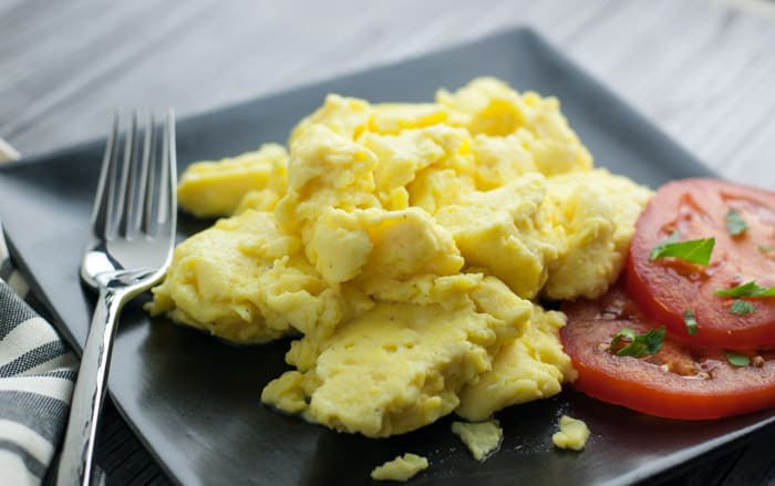 Secret Ingredients Scrambled Eggs - no more boring eggs!