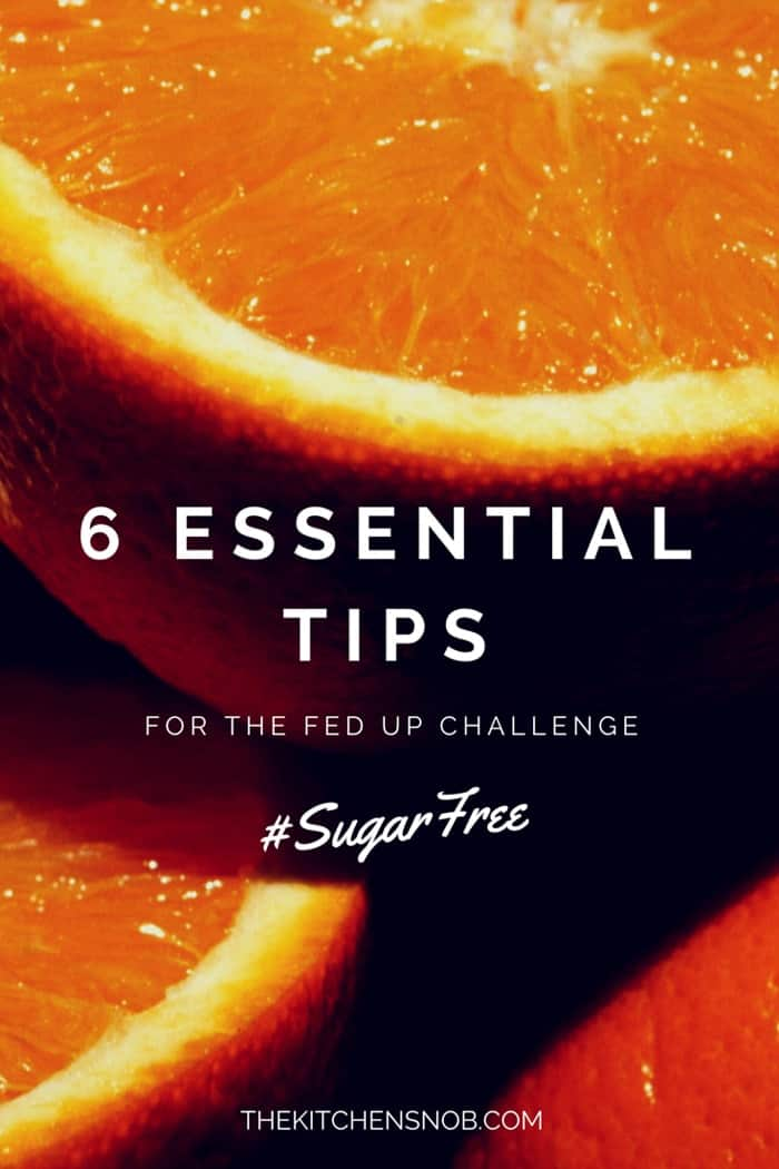 Sugar Free Diet Tips for the 10 Day Fed Up Challenge