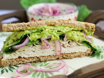 The Spicy Power Turkey Sandwich - perfect recipe to eat while taking the Fed Up Challenge. No sugar or white carbs.
