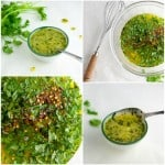 Honey Lime Cilantro Sauce - this recipe is great with pork, chicken, steak, and on salads!
