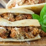 Broken Meatball Sub Sandwiches