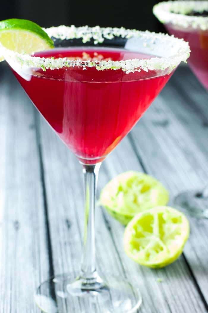 Cape Cod Cosmo - love this drink served over ice or as a cosmopolitan. Extra lime! My favorite alcoholic beverage!