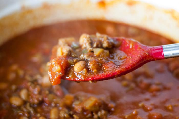 My Bestie's Chili Recipe - easy to make in the crock-pot!