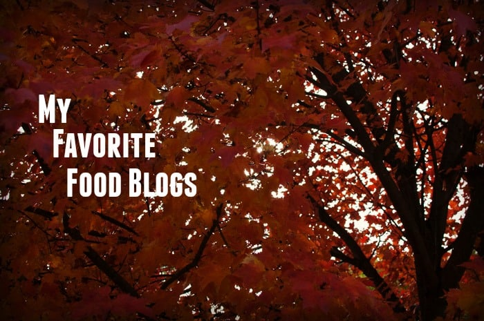 Our Favorite Food Blogs