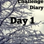 Fed Up Challenge Diary – Day 1
