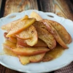 Sugar-Free Baked Apple Slices