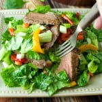 Poor Man's Steak Salad
